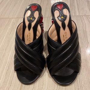 Gucci Snake Sandals